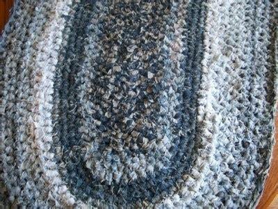 Blue Gypsea Crochet 1 crocheted blue rug thriftyfun