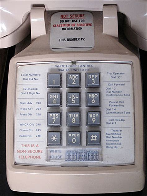 White House Phone Number by The Daily Ping Phones