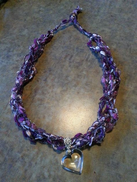 free pattern ladder yarn necklace 17 best images about ladder yarn on pinterest crochet