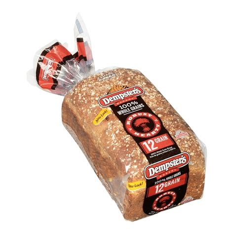 whole grains 12 grain bread dempster s whole grain 12 grain bread 600g fresh st market