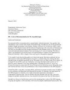 recommendation letter for masters program letter of