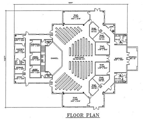 Church Floor Plans Free Church Plan 123 Floor Plan Jpg 841 215 700 Pixels Lifechurch New Sanctuary Pinterest Church