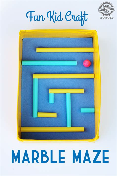 Craft Work For Home Decoration by Kid Craft Diy Marble Maze