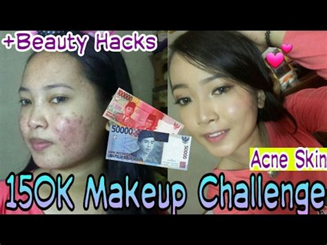 Wajah Inez 150k makeup challenge hacks inez eyeshadow