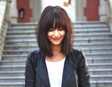 Medium Hairstyles With Bangs And Glasses by 15 Best Images About Hair On Oval Faces Bobs