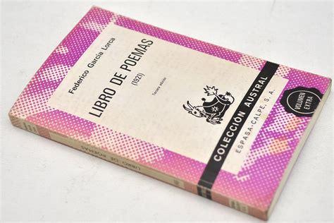 libro libro de poemas 1921 federico garcia lorca libro de poemas 1921 kupindo com 43577717