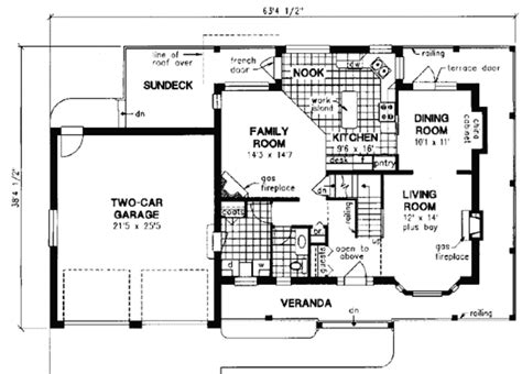 house plan 1978 farmhouse style house plan 3 beds 2 5 baths 1978 sq ft