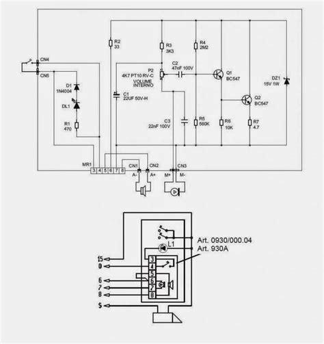 schema alimentatore liberi pensieri porter elvox 930a e derivati riparazione