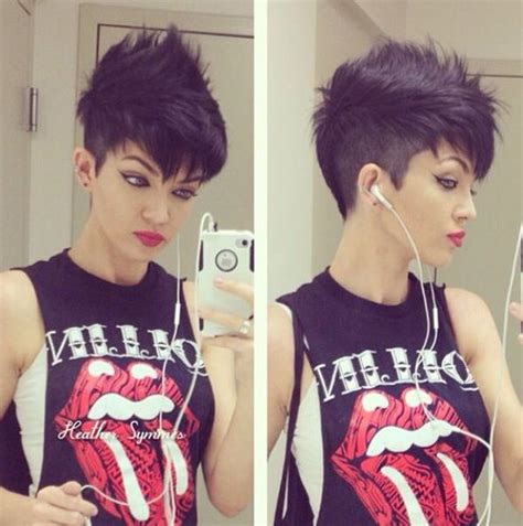 short punk rock hairstyles for women edgy short punk hairstyles can you pull off the look
