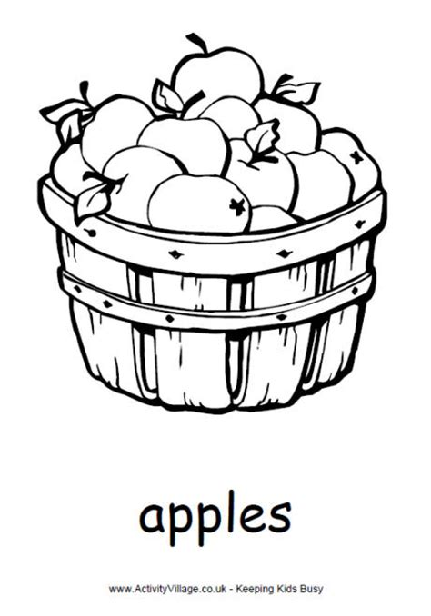 apple harvest coloring pages image gallery harvest food coloring pages