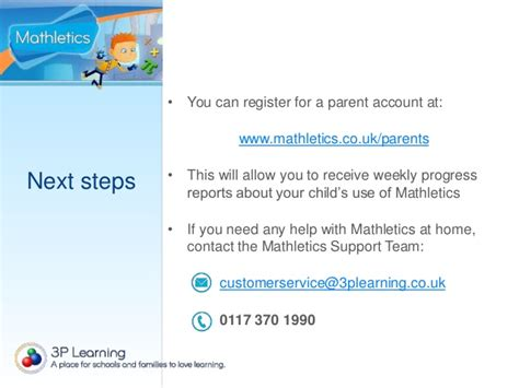 Parent Letter Mathletics Ww Mathletics Descargardropbox