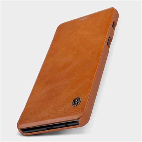 Nillkin Qin Leather Flip Cover Kulit Samsung Galaxy A7 A710 2016 buy nillkin qin series leather for samsung galaxy a8 plus 2018 at giztop