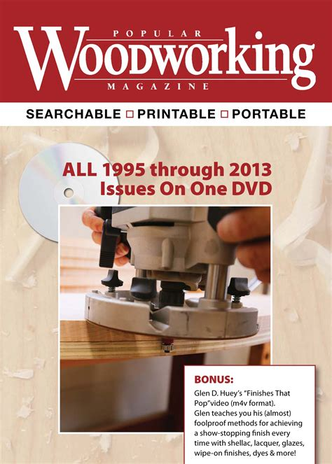 popular woodworking magazine subscription woodworking plans and project