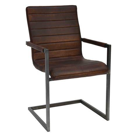 freischwinger stuhl dunkelbraun bestseller shop f 252 r - Büffelleder Stuhl