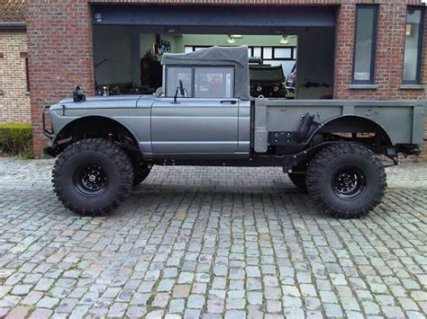 kaiser jeep lifted nicely done jeep m715 jeeps jeeps