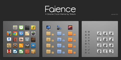 icon changer themes faience icon theme by tiheum on deviantart