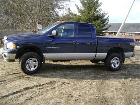 how it works cars 2004 dodge ram 2500 electronic valve timing buy used 2004 dodge ram 2500 slt quad cab ho diesel in milford new hshire united states