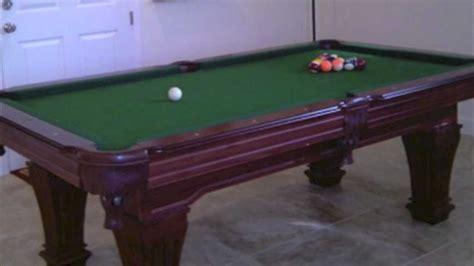 new used pool tables for sale from antique brunswick and