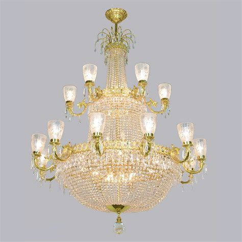 Magnificent Large Vintage Ballroom Crystal Chandelier Ant For Chandeliers