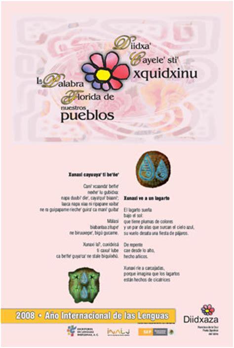 poemas e n lengua indigenas escritores en lenguas ind 237 genas