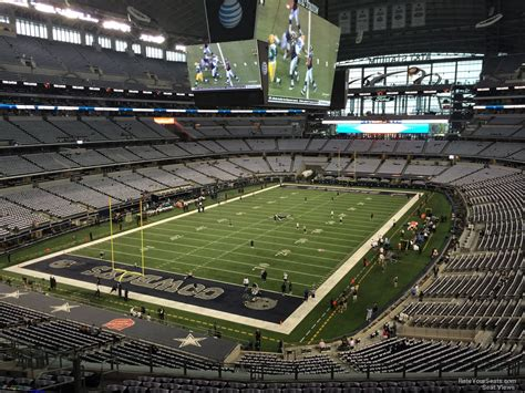 at t stadium section 319 dallas cowboys rateyourseats
