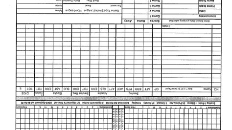 volleyball stat sheets  forms coaches corner