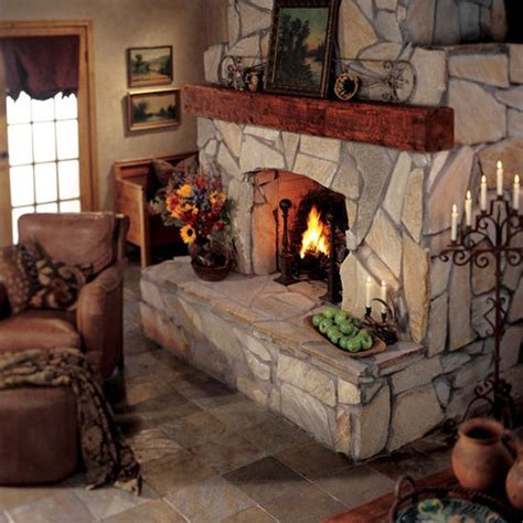 images  fireplace ideas  pinterest rustic