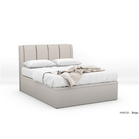 Fabric Storage Bed by Dalttone Fabric Storage Bed Furniture Home D 233 Cor