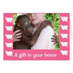 charity donation gift greeting card zazzle
