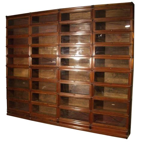 Big Mahogany Globe Wernicke Bookcase For Sale At 1stdibs Large Bookshelves For Sale