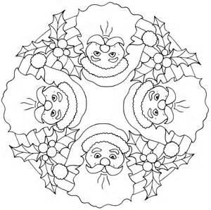 christmas mandalas coloring 14 171 funnycrafts