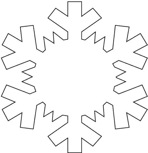 snowflake pattern for preschool crafts actvities and worksheets for preschool toddler and