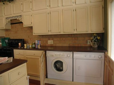 laundry in kitchen ideas kitchen washer dryer in kitchen washer and dryer in