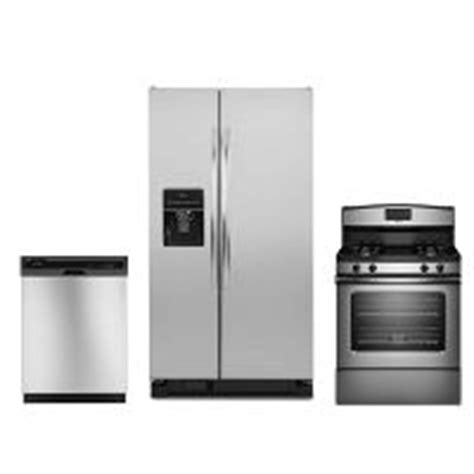 gas kitchen appliance packages amana stainless steel 3 gas kitchen appliance