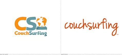 couch surfing logo brand new couchsurfing