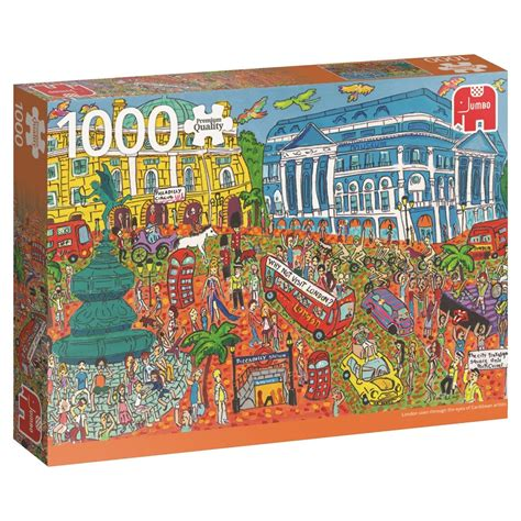 Thematic Magnet Puzzle Circus puzzle piccadilly circus jumbo 18563 1000 pieces