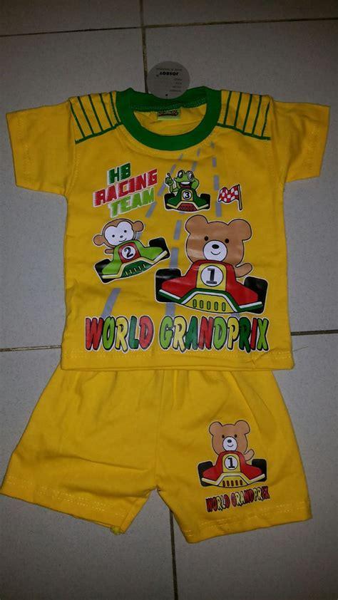 Grosir 3pcs Setelan Kaos Anak Murah Setelan Anak Pendek Poly Uk 4 8 update produk continue pakaian anak