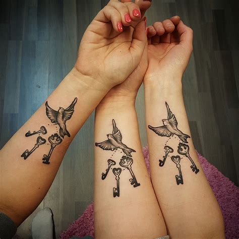 matching sister tattoos matching tattoos designs ideas and meaning