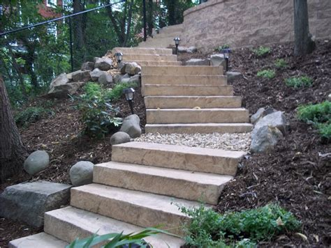 landscaping stairs landscaping steps on a steep slope google search steep