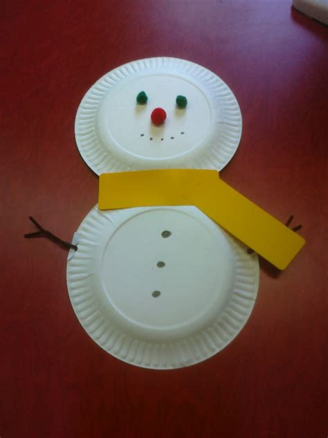 Crafts With Paper Plates For Preschoolers - 21 easy paper plate snowman ideas for your guide