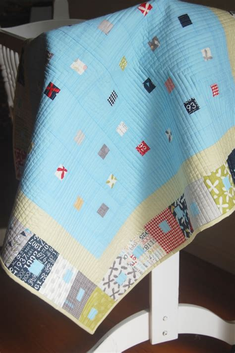kate conklin designs gathered in modern baby quilt pattern