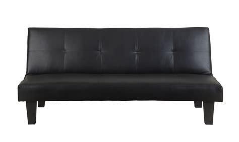 faux leather settee birlea franklin sofa bed settee black faux leather