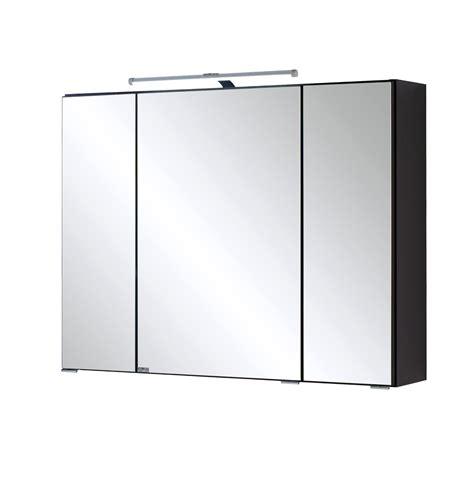 spiegelschrank 3 teilig bad bad spiegelschrank 3 t 252 rig mit led aufbauleuchte 80