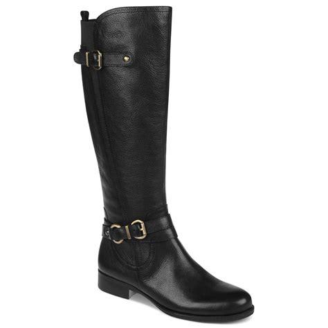 black boots wide calf black wide calf boots 28 images intaglia black wide