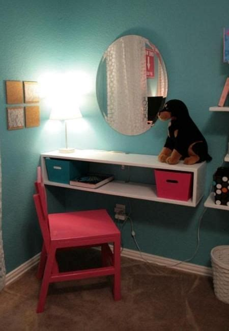 Small Desk Area Ideas Instead Of A Vanity I Was Thinking This Would Be Okay For A Small Quot Desk Area Quot That Might Work