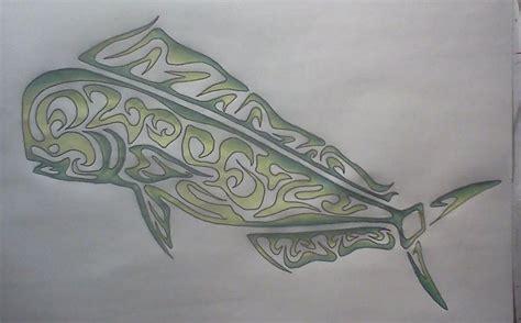 mahi mahi drawing by erica koczorowski