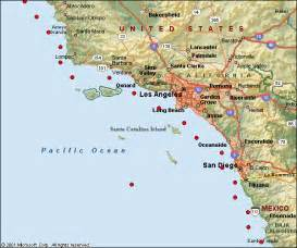 coastal map of southern california southern california marine weather forecast buoyweather