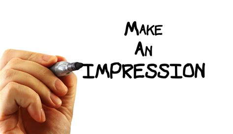 7 Ways To Make A Impression At An by How To Make An Impression Notestoponder