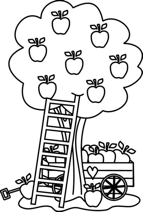 apple harvest coloring pages 35 apple coloring pages coloringstar