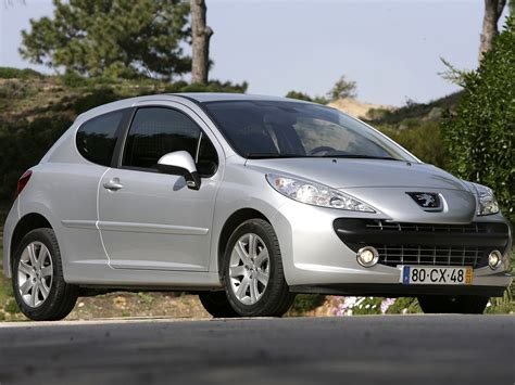 peugeot 2 door car peugeot 207 3 doors specs 2006 2007 2008 2009